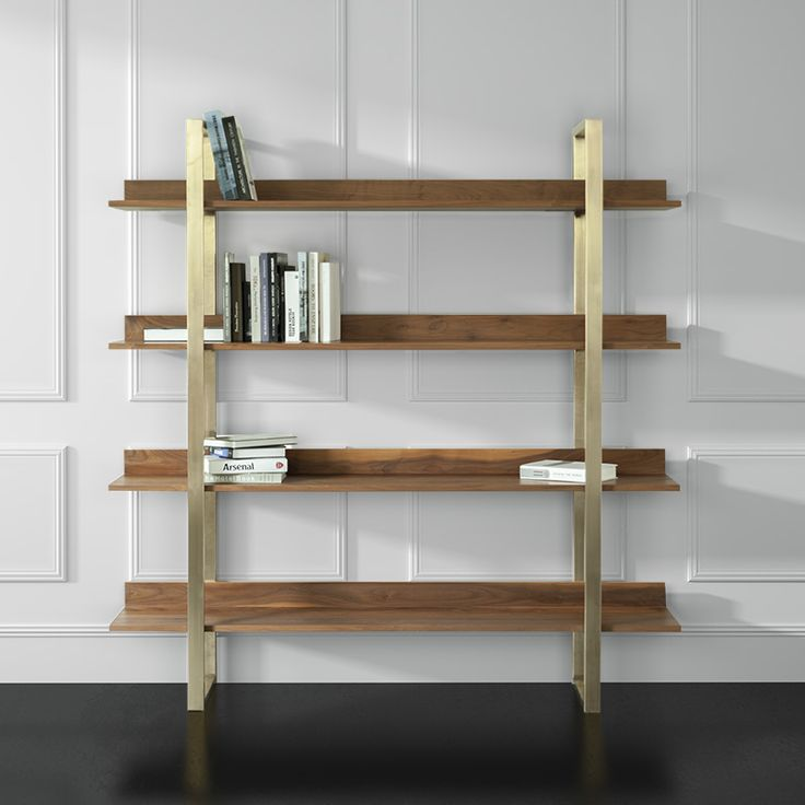 A Large Bookshelf That Can Easily Fit In A Modern Home . Minimal And Modern  Design
