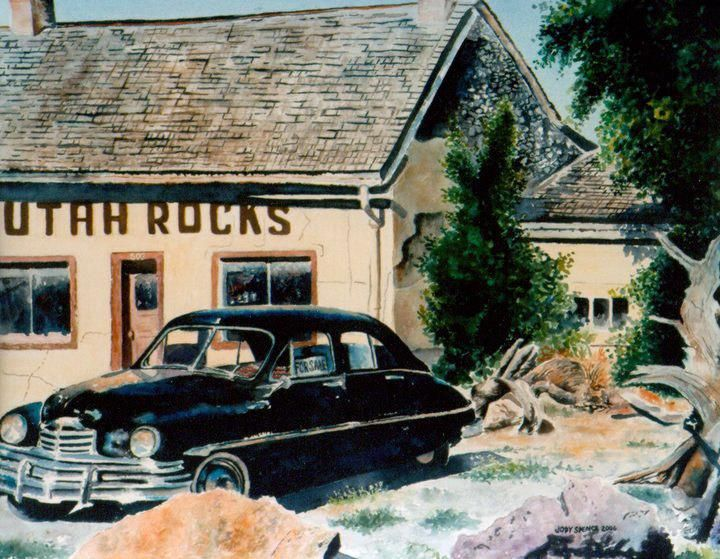 Portrait of a Rocks business located in Nephi Utah.