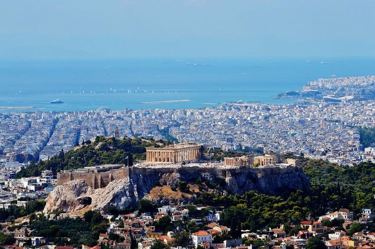 Athens' Kolonaki Neighborhood: Try authentic Greek food at Philippou (Picture by Crick W. / Foursquare)Stunning view of Athens and Piraeus from Lycabettus hill