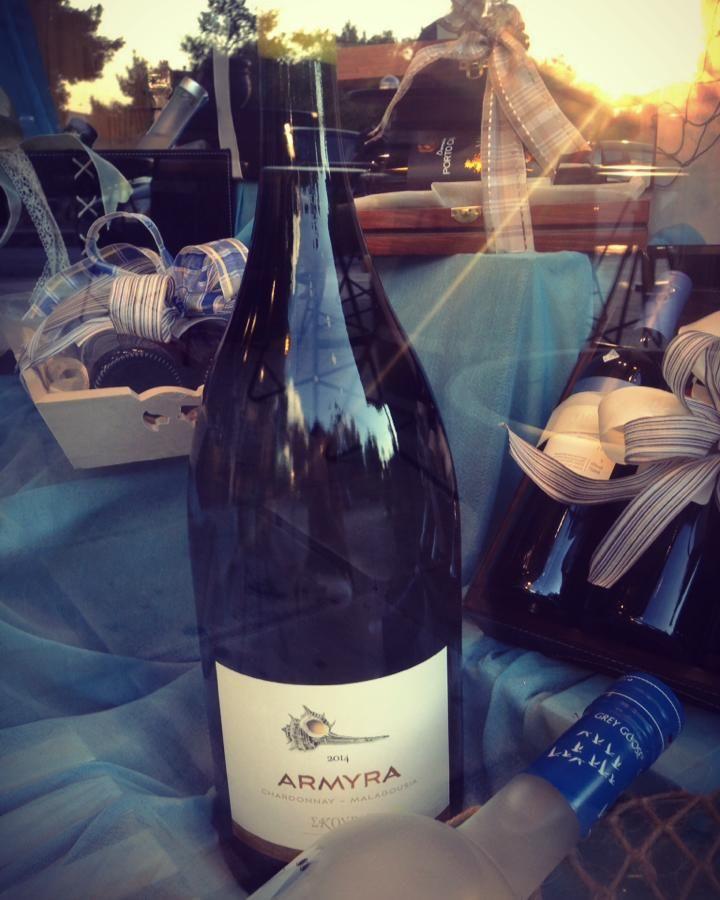 ARMYRA 6lt. Ready. Cool it. Drink it! #ARMYRA #Chardonnay #Malagousia #Skouras