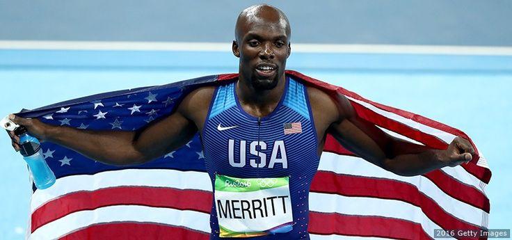 2008 Olympic Champion LaShawn Merritt Returns To 400-Meter Podium, Earns Bronze