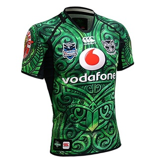 NZ Warriors - BEAUTIFUL jersey design! (I'd like to see this up against the London Irish jersey!)