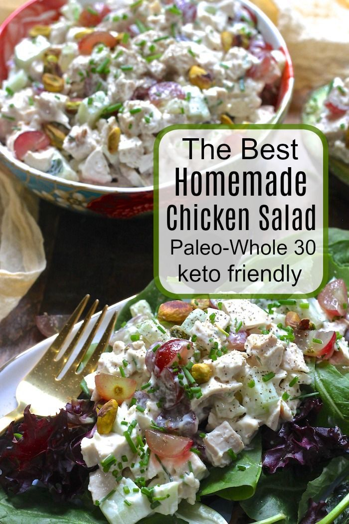 The Best Homemade Chicken Salad Recipe I Delicious Dinners