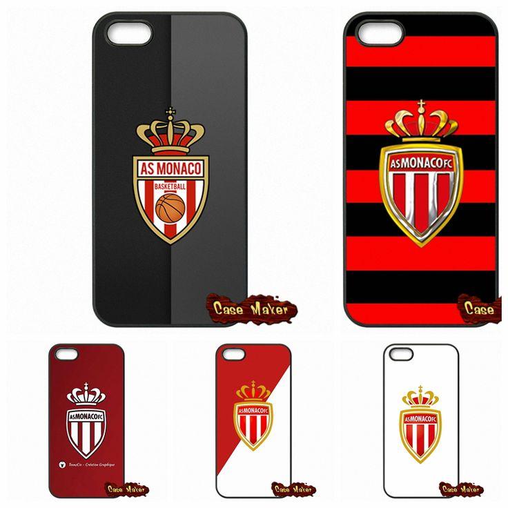 КАК клуб Монако ФК Логотип Чехол Для Samsung Galaxy S3 S4 S5 MINI S6 S7 Края Примечание 3 4 5 iPhone 4 4S 5S 5 5C SE 6 6 S плюс