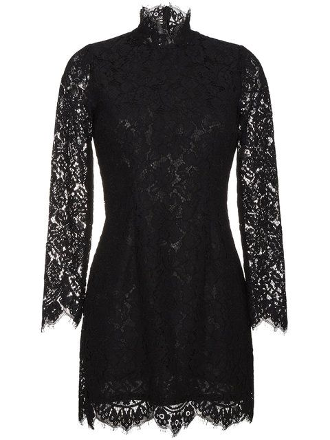 Shop Ganni Jerome lace dress.