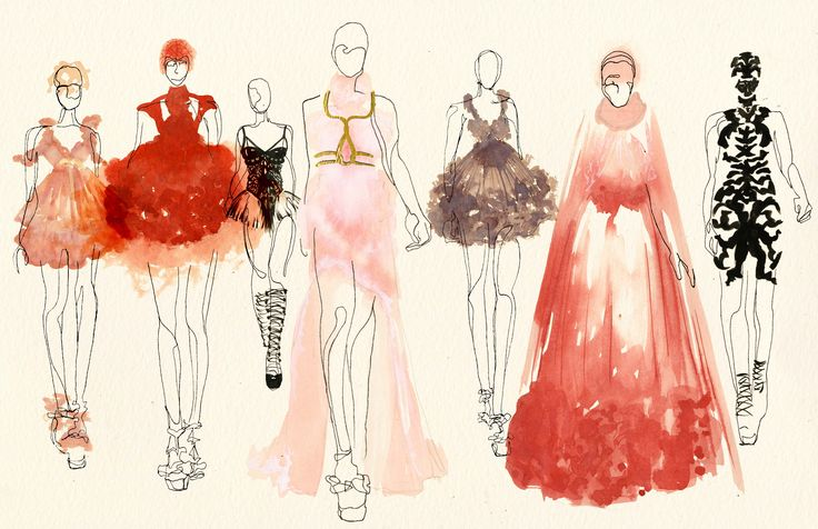 Kimberly Lams- Alexander McQueen collection