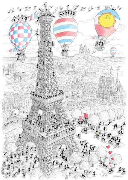 """Puzzle """"Parigi"""". #formiche #puzzle #paris #france #eiffel #torre #tower #art"""