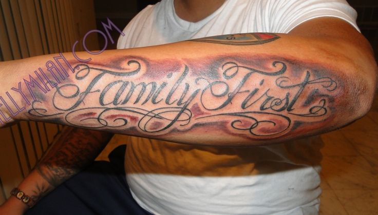 [url=http://www.familytattoodesigns.com/family-first-tattoo-on-arm ...