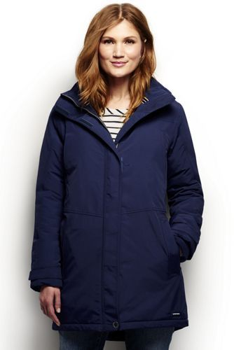 Women's Squall Insulated Parka from Lands' End : looks like a good bet against wind, rain & snow?