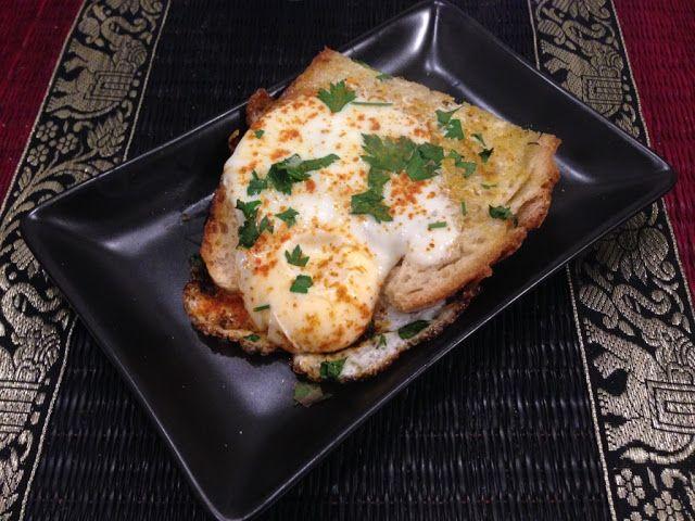 Myeu appunti vegetariani: Pane uovo prezzemolo curry