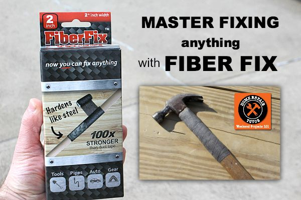 Master fixing anything with Fiber Fix: It's Duck Tape on Steroids!!