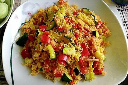 Couscous-Gemüsepfanne für Studenten (Rezept mit Bild) | Chefkoch.de