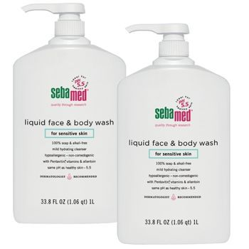 SebaMed soap free soap has kept my hands from cracking for two Winters now. Totally worth the cost.
