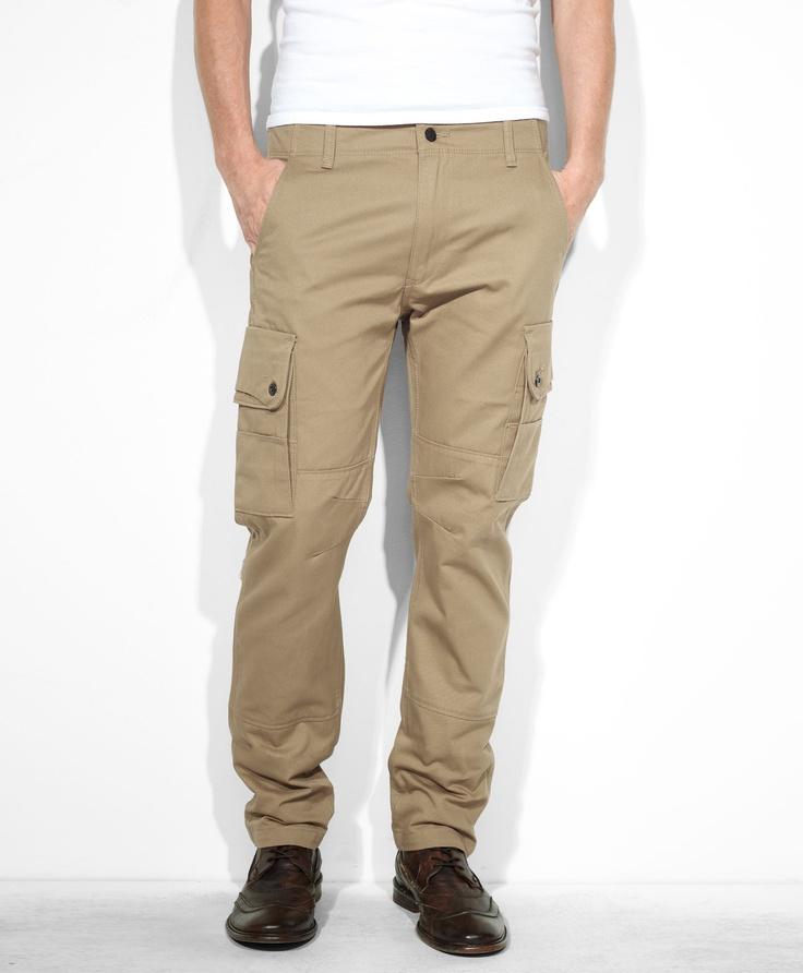 levis 508� regular taper cargo pants true chino jeans