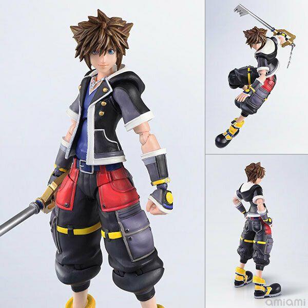 Kingdom Hearts Iii Bring Arts Sora Second Form Ver Action Figure Kingdom Hearts Best Action Figures Disney Figures