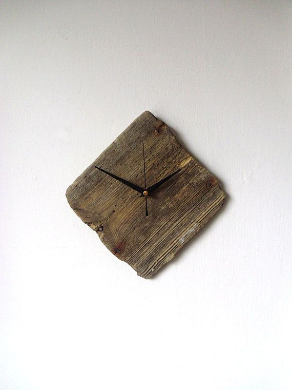 Driftwood Wall Clock  Wall Beach Clock  Recycled by NaturalClocks, £20.00