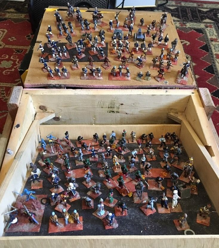 Lead Figures Hand Painted 1 Or All..(A-1 Lot)  | eBay