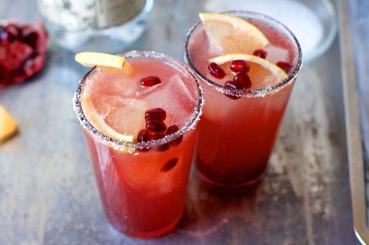 Pomegranate Grapefruit Paloma