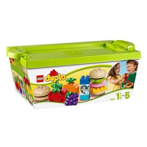 Panier de pique-nique Mon premier Duplo Lego pour enfant de 1 an et demi à 5 ans - Oxybul éveil et jeux