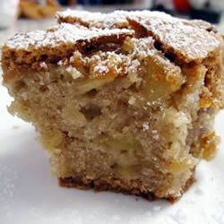 Really great apple cake