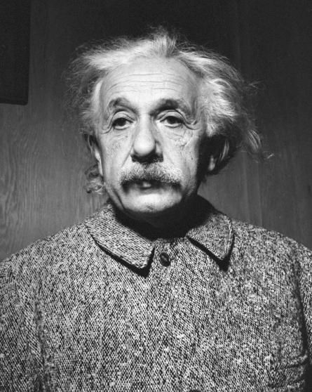 Portrait of Albert Einstein, 1947.
