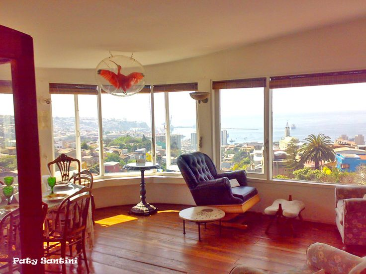 Casa Pablo Neruda - Valparaiso, Chile