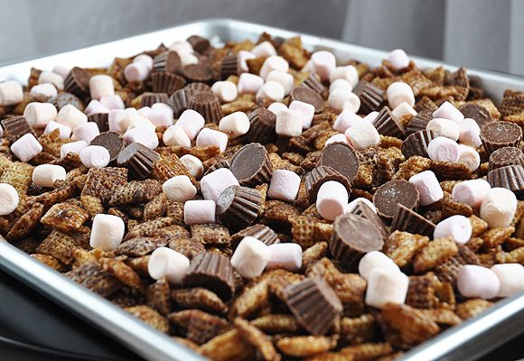 Better than Sex Chex Mix...,. I have heard this stuff is almost as good as the cake..make as a gift and bag it !