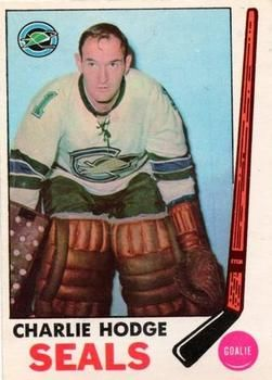 1969-70 O-Pee-Chee #77 Charlie Hodge Front