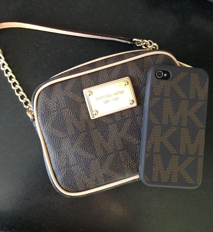 Mobile case, MK, michael kors, handbag