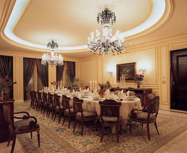 luxury ceiling designs luxury POP ceiling designs for dinning room ...