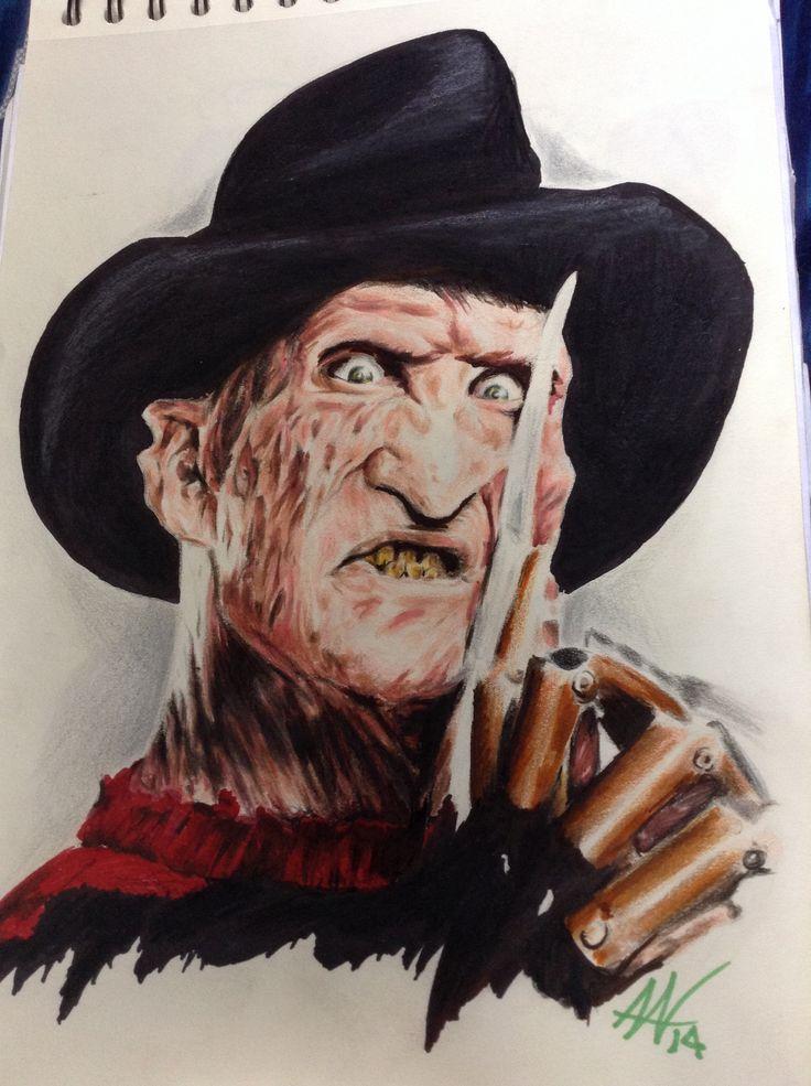 Portafolio Andres Valenzuela, Bogotá - Colombia. Freddy krueguer portrait.