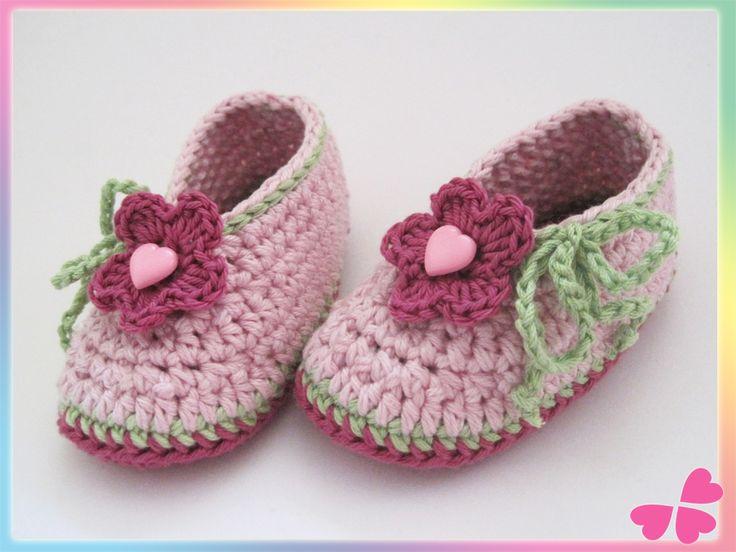 27 besten babyschuhe Bilder auf Pinterest | Gestricktes baby ...
