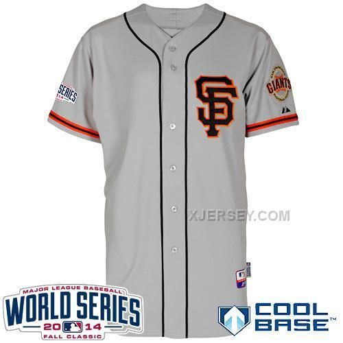 http://www.xjersey.com/giants-blank-grey-2014-world-series-cool-base-road-2-jerseys.html GIANTS BLANK GREY 2014 WORLD SERIES COOL BASE ROAD 2 JERSEYS Only $34.00 , Free Shipping!