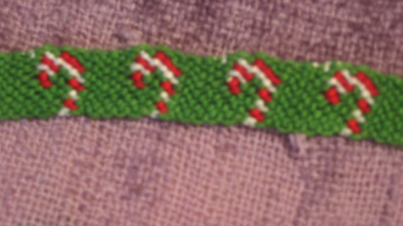 FREE SHIPPING Candy Cane Bracelet by SaxophoneChick on Etsy, $7.00