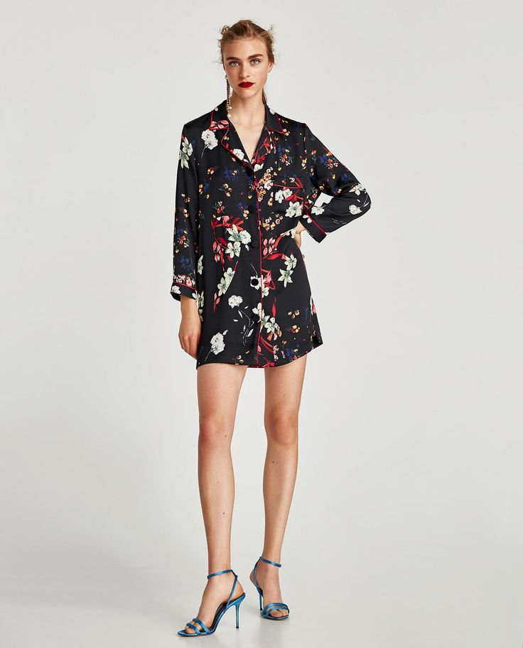 FLORAL PRINT DRESS-View all-DRESSES-WOMAN | ZARA United States