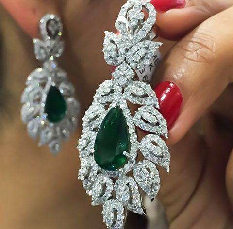 #zümrüt #dünyası #emerald #earrings