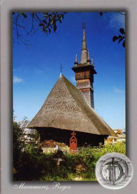 "ROMANIA (Maramureş) - The wooden Church in Rogoz - part of ""Wooden churches of Maramureş"" (UNESCO WHS)"