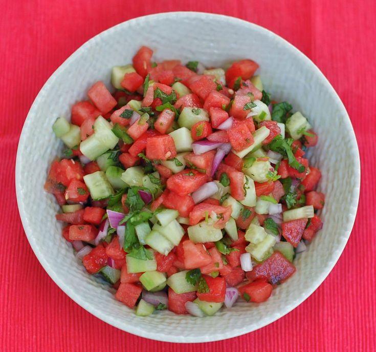 Watermelon Salsa | Small Bites by Jessica