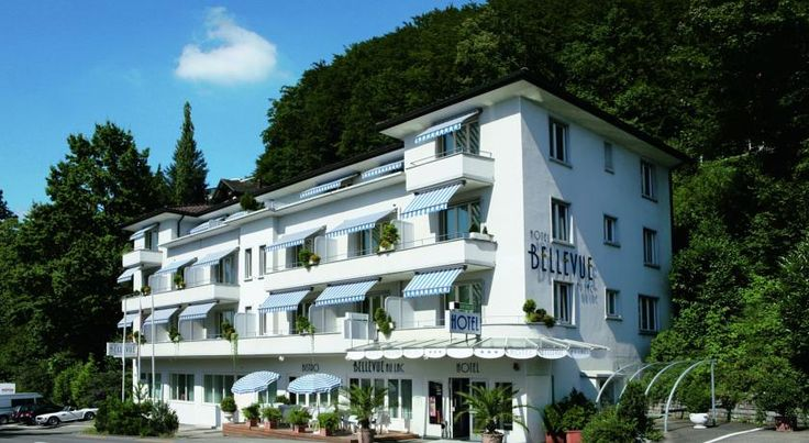 Hotel Bellevue Luzern Hotel Bellevue is located on the outskirts of Lucerne, 300 metres from the shore of Lake Lucerne, offering rooms with digital TV, minibar and free WiFi. Most rooms have a balcony overlooking the mountains.