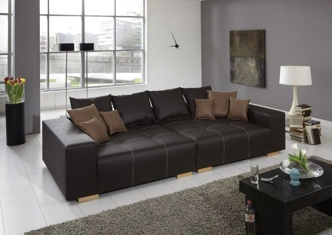 die besten 25 big sofa leder ideen auf pinterest schoenen sonntag sofa berwurf und perfect. Black Bedroom Furniture Sets. Home Design Ideas
