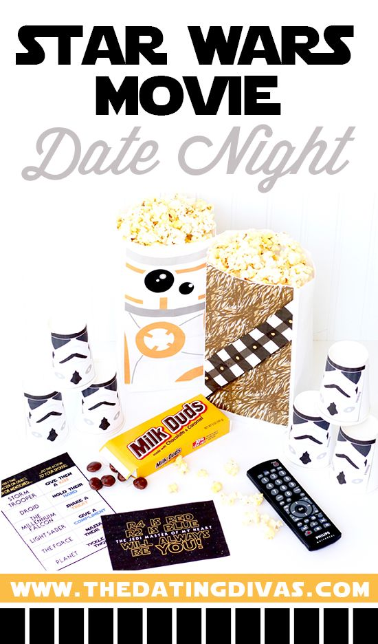 We loved the Force Awakens and can't wait to watch it again! Super easy and fun way to have a Star Wars movie date night! www.TheDatingDivas.com