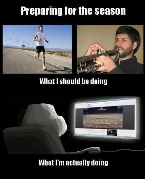 Marching Band Problems...I KNOW a few kids like this.