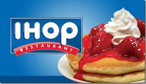2014 with Mark Rotolo - He had never been to an IHOP and wanted to try it.