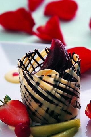 Gourmet Chocolate Desserts | Gourmet Dessert Presentation Filed under uncategorized