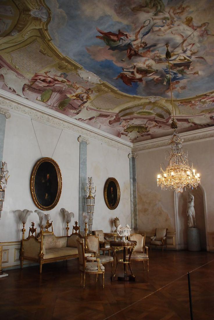Ludwigsburg Palace ~ Stuttgart ~ Baden-Württemberg ~ Germany ~ Salon at Ludwigsburg Palace