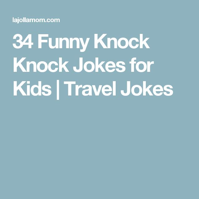 Knock joke adult knock