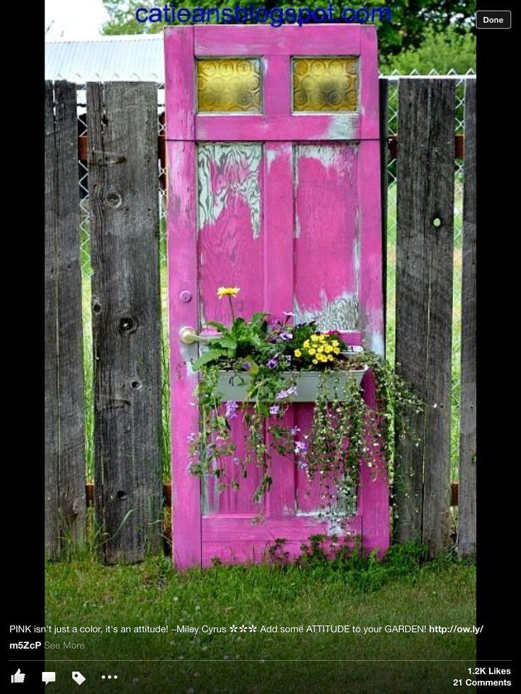 Old door & window box