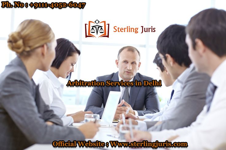 We offer unmatched Arbitration Services in Delhi to businesses that has led us gain repute in the legal domain. Sterling Juris is led by a qualified team of professionals who offer clients proficient services achieving success at every step.  Our commitment to reliability and the best service assurance is our benchmark.   Contact No : 9111-4052-6047  Email At : info@sterlingjuris.com