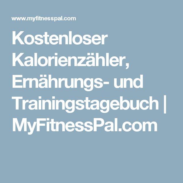 Kostenloser Kalorienzähler, Ernährungs- und Trainingstagebuch | MyFitnessPal.com