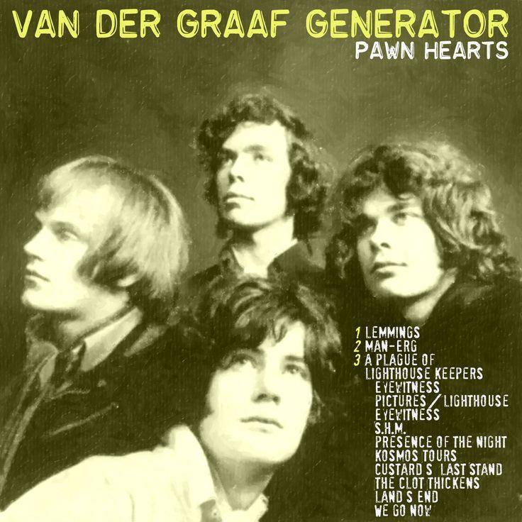 VAN DER GRAAF GENERATOR - Pawn hearts CD COVER